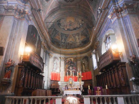 cathédrale cervione intérieur