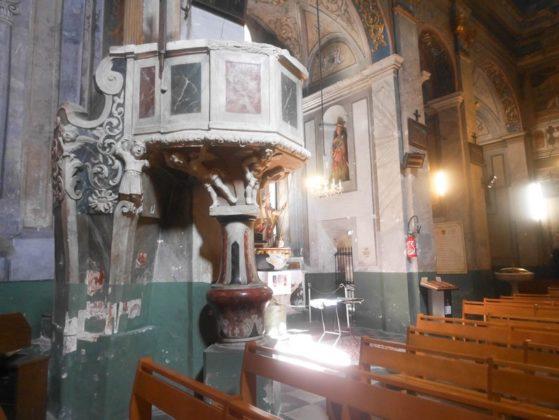 intérieur cathédrale de cervione