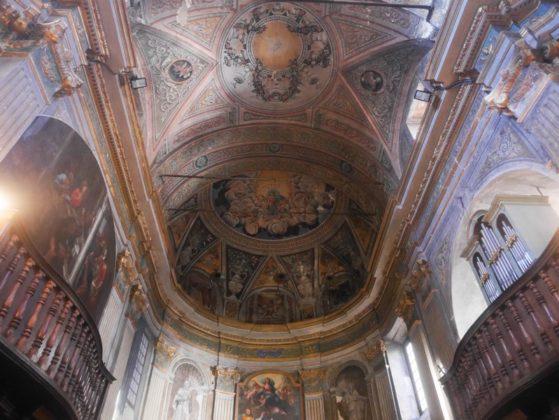 intérieur cathédrale cervione