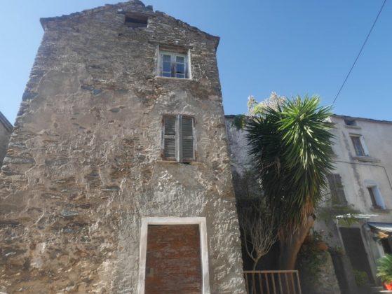 haute maison en pierre corse