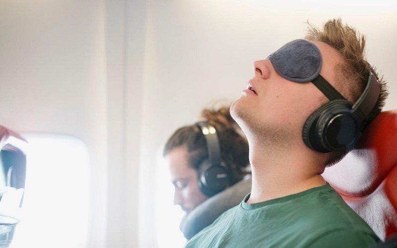 masque de sommeil avion