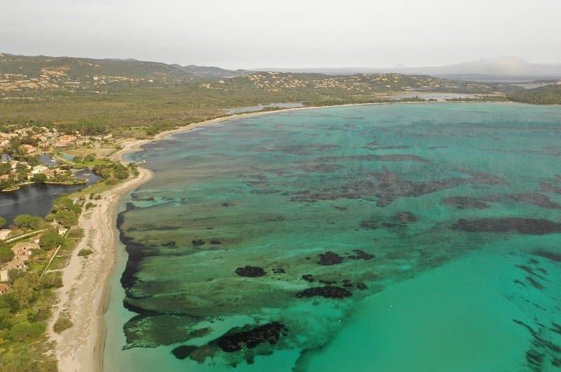 plage de saint cyprien à lecci