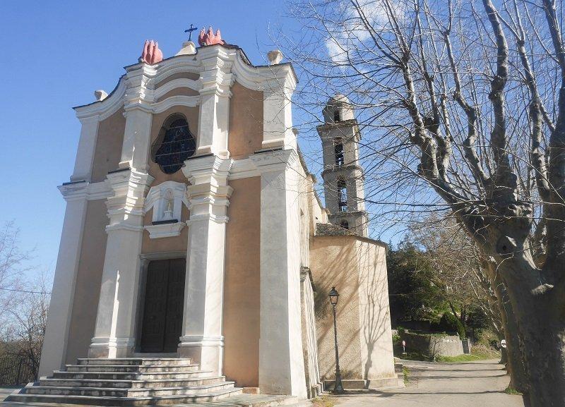 église St Jean Baptiste poggio mezzana
