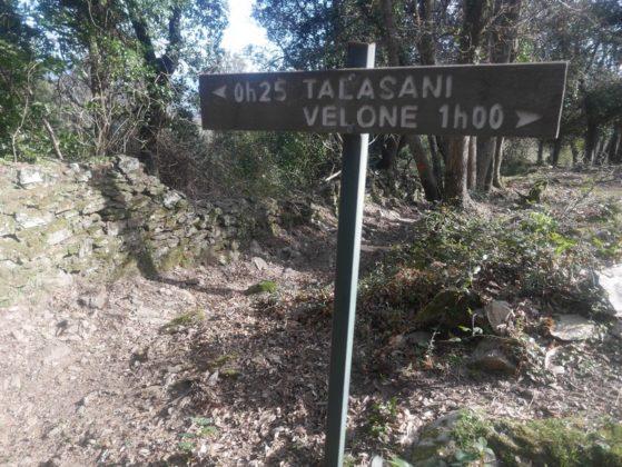 sentier de randonnée talasani