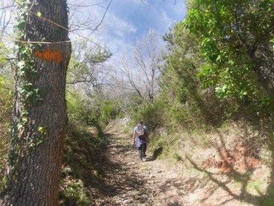 sentier randonnée costa verde