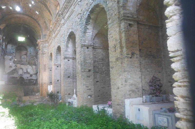 intérieur couvent st françois castifao