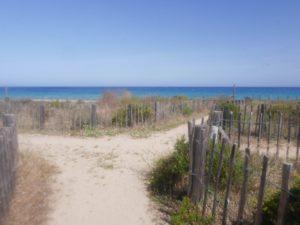 plage de losari accès