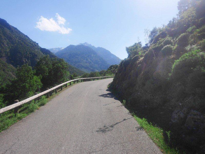 route vallée asco