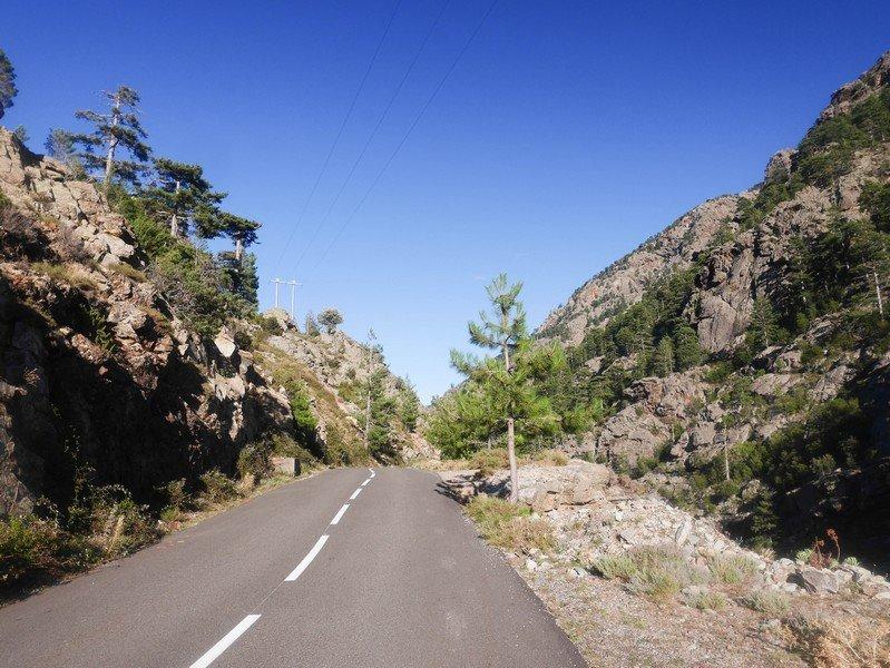 route de la vallée d'asco
