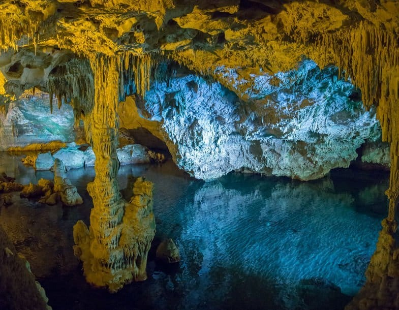 grotte de neptune sardaigne