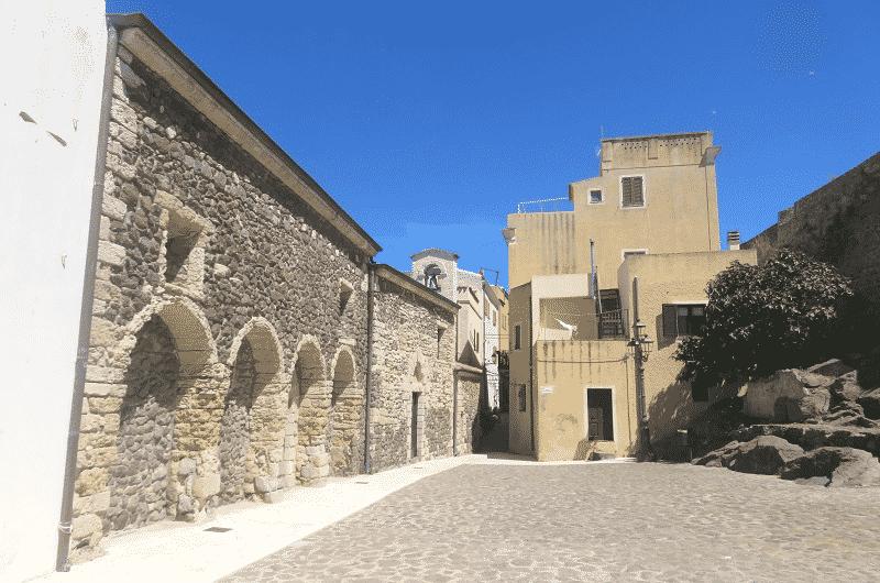Piazza della Misericordia castelsardo