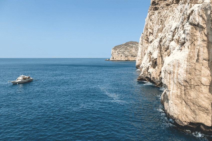 bateau grotte de neptune