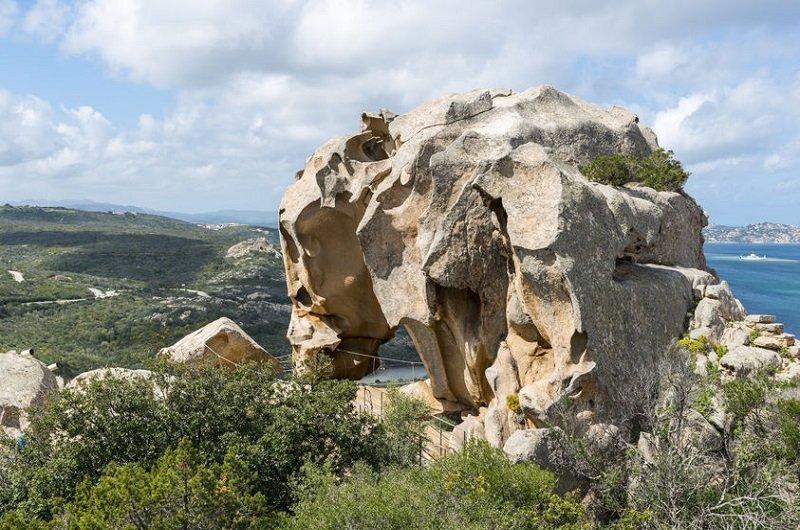 roccia del orso palau