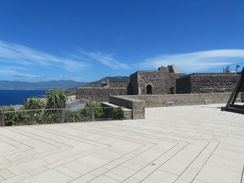 terrasse chateau de castelsardo