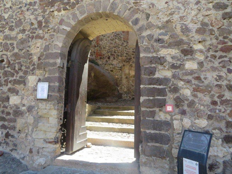 entrée chateau de castelsardo