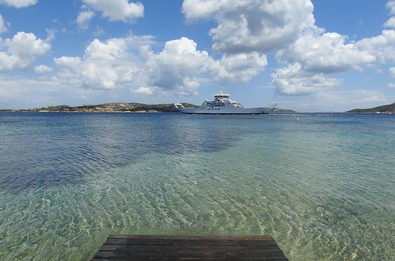 ferry palau maddalena