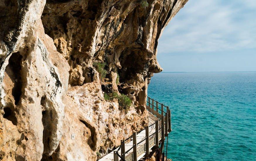 grotte bue marino à pied
