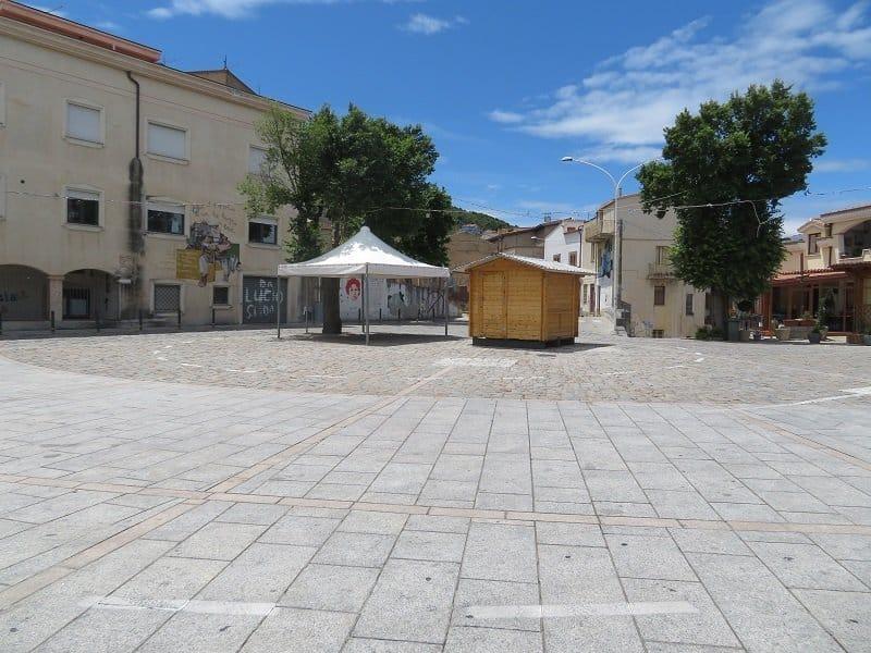 Piazza Caduti in Guerra orgosolo