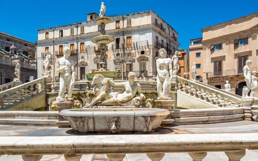 fontaine pretorienne palerme