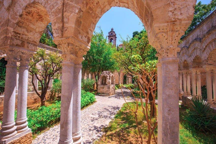 église des ermites palerme