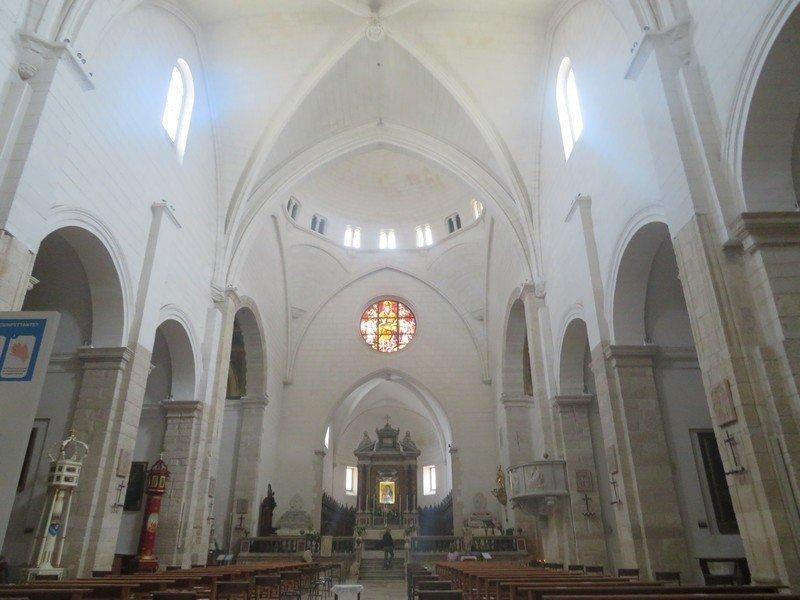 intérieur cathedrale de sassari