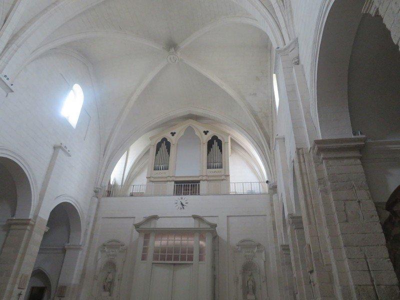 interieur cathedrale sassari