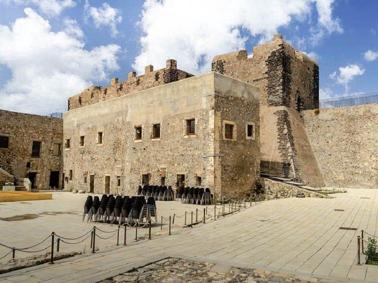 chateau de milazzo