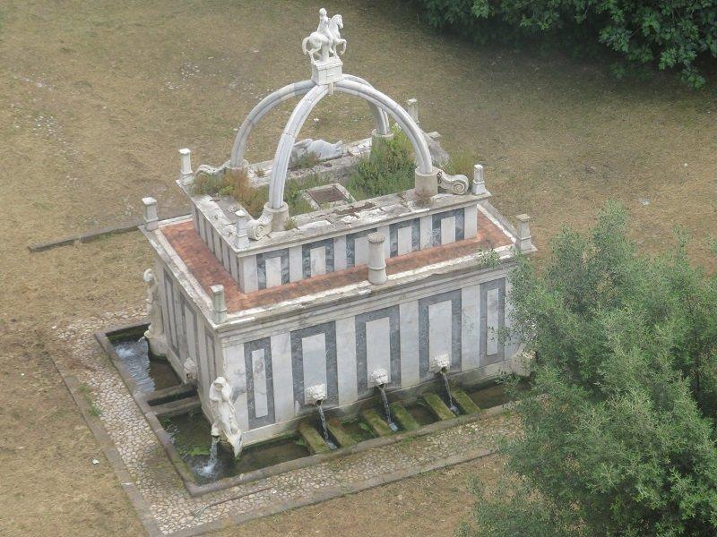 fontaine de rosello sassari