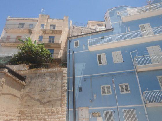 maison bleue sicile