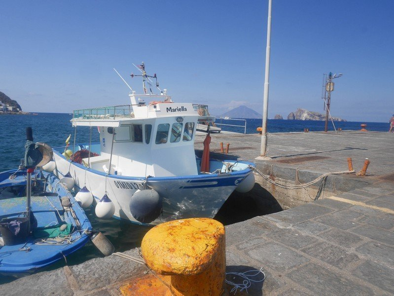 bateaux de peche panarea