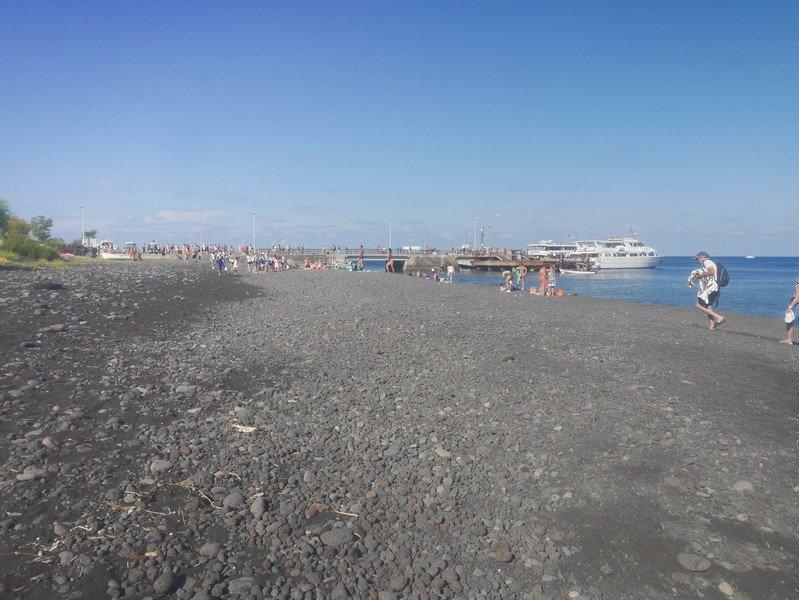 plage ile stromboli