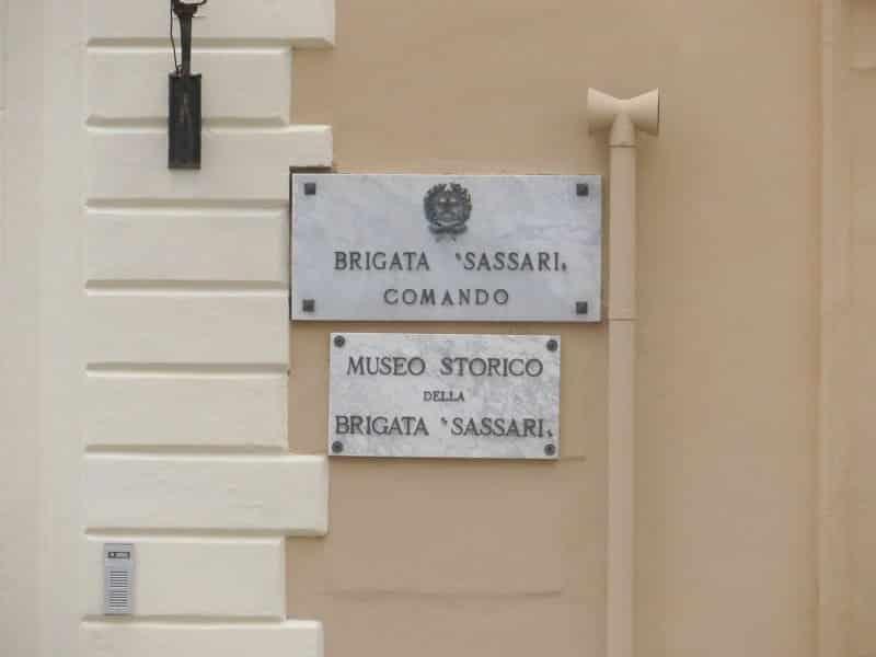 musée de la brigade sassari