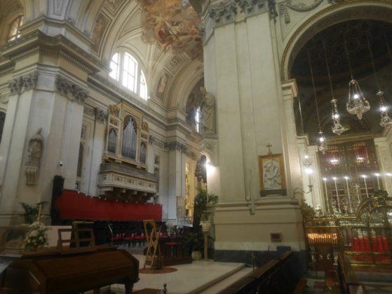 intérieur cathédrale de palerme