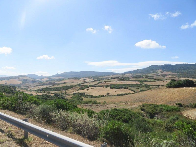 paysage rural sarde