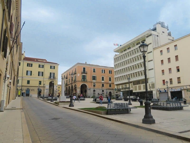 piazza castello sassari