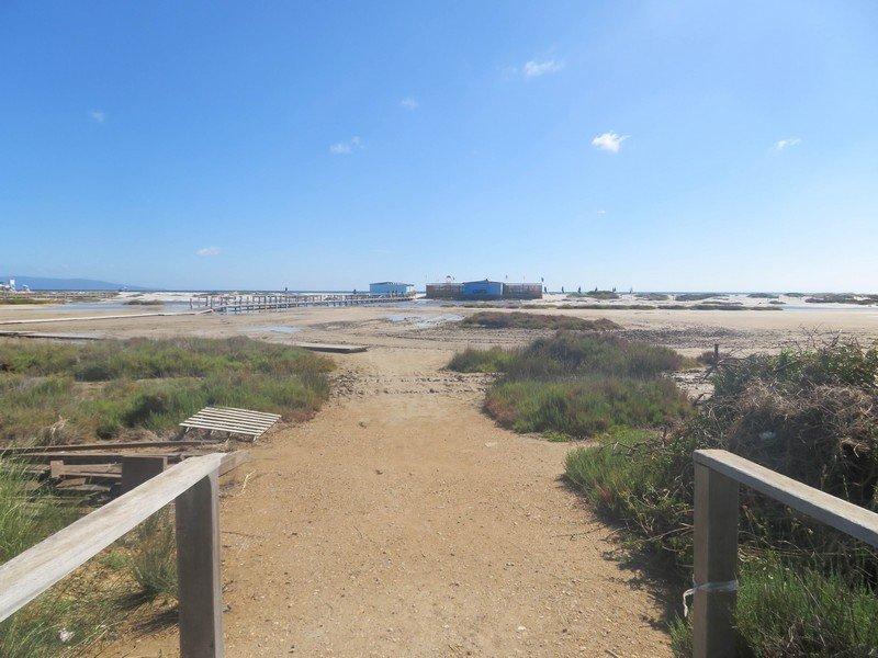 entrée plage le saline stintino