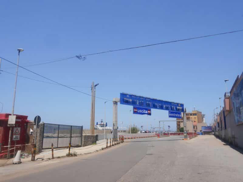 entrée port san giovanni