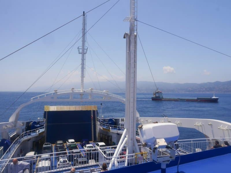 traversée italie sicile