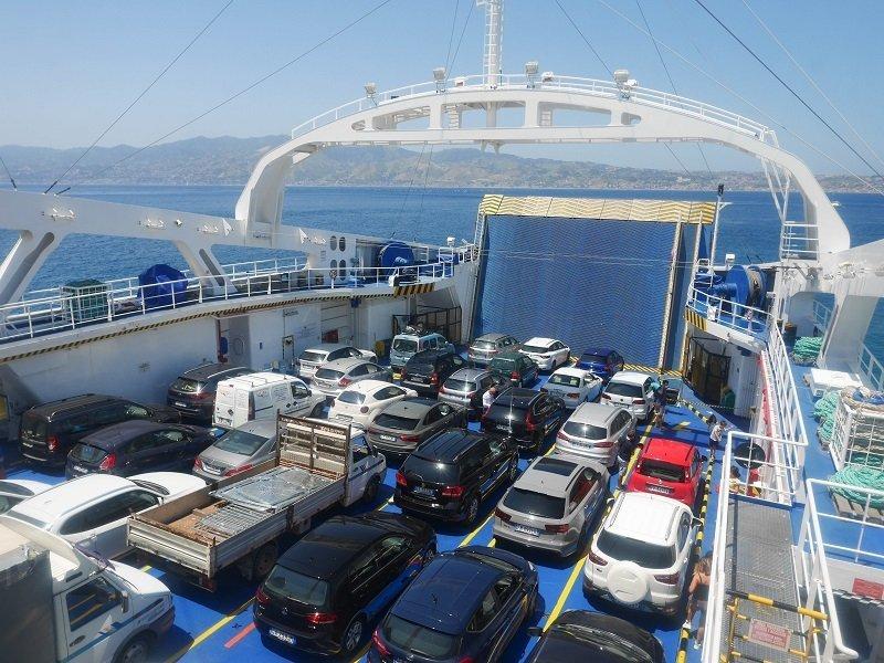 passage bateau italie sicile