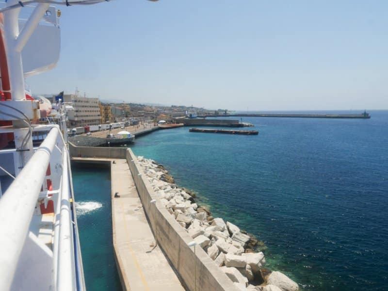port de san giovanni italie