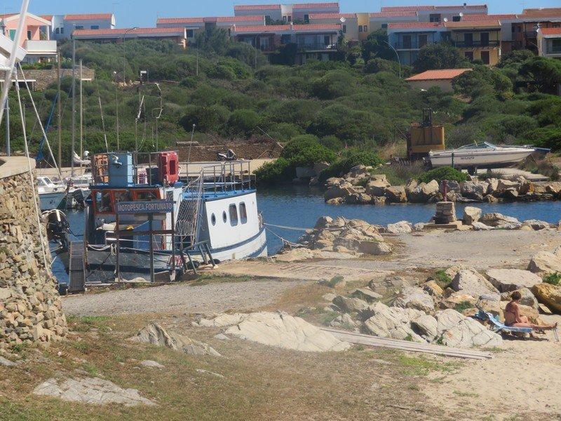 entrée port de stintino