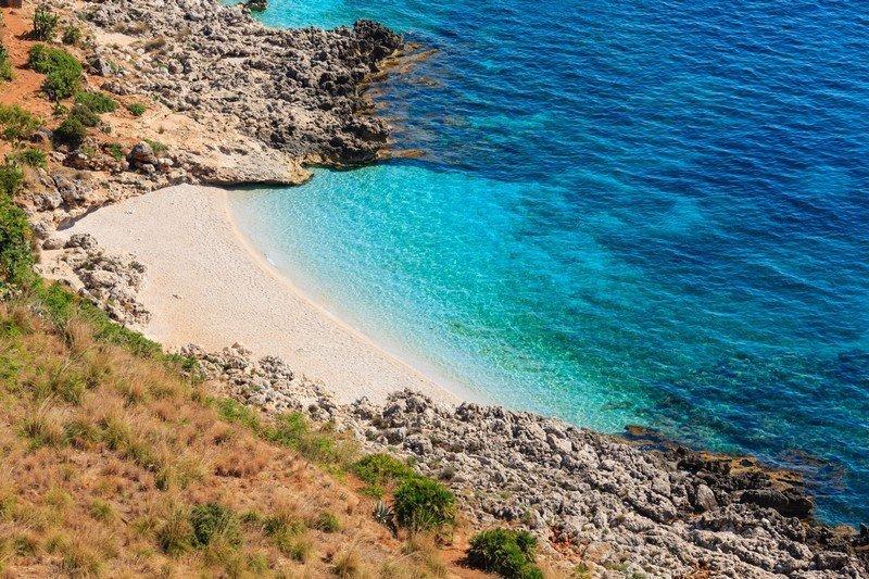 plage réserve zingaro
