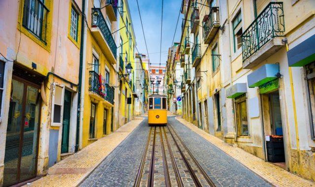 Lisbonne tramway