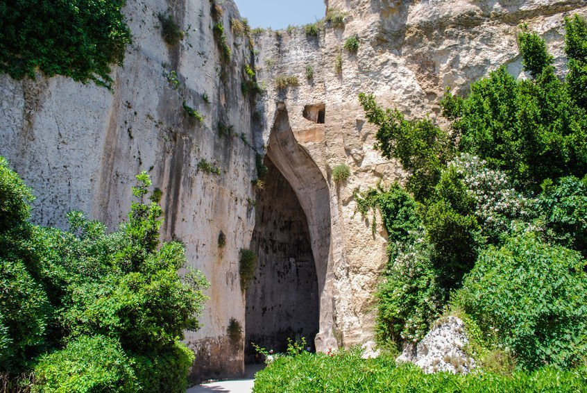 Orecchio di Dionisio syracuse