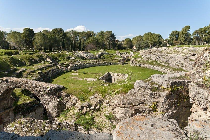 amphithéâtre romain syracuse