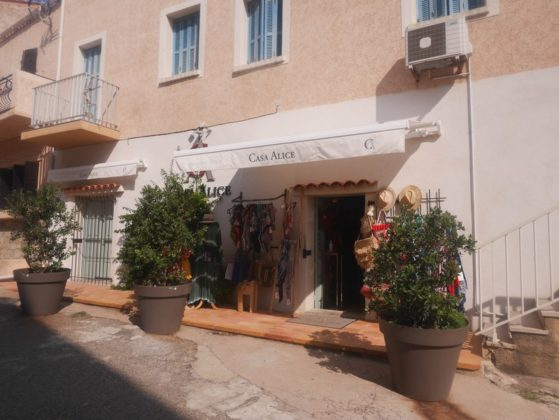 boutique à algajola
