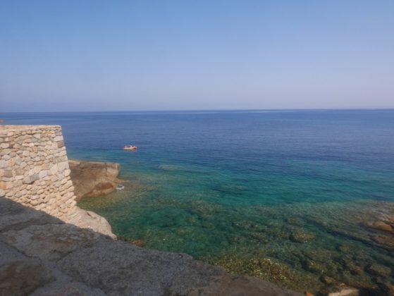 la mer à algajola