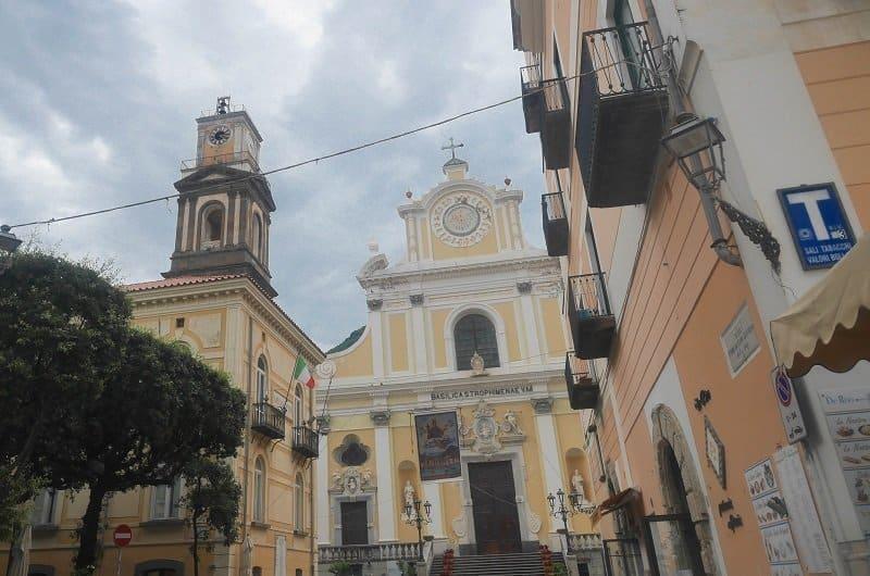 basilique de Santa Trofimena