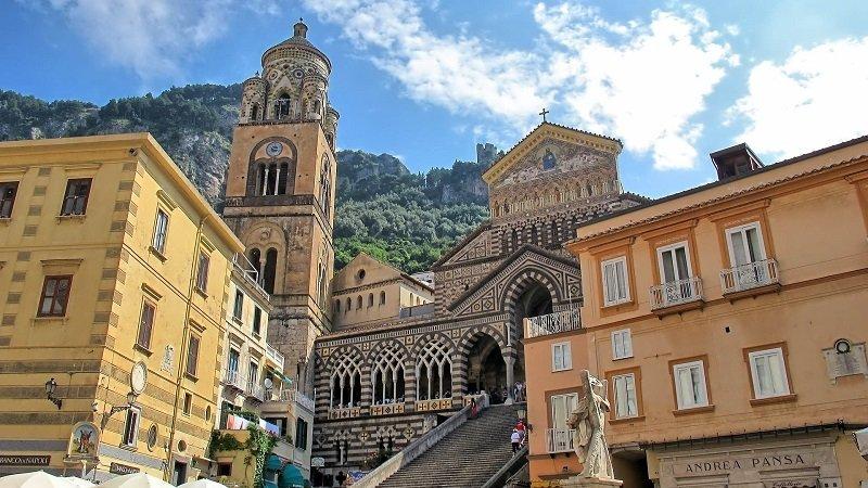 la cathédrale d'amalfi