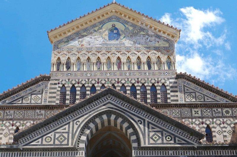 mosaique cathedrale amalfi